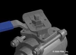 PBM's Patented Locking Handle Animation